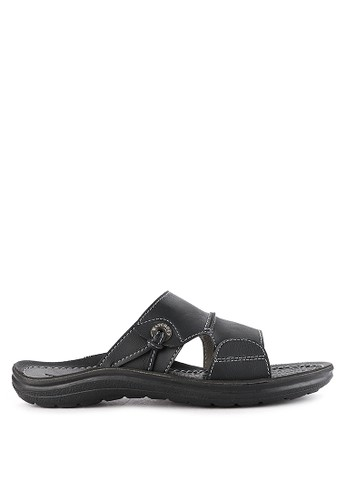 Watchout! Shoes black Slip On 1807DSHCAADE19GS_1
