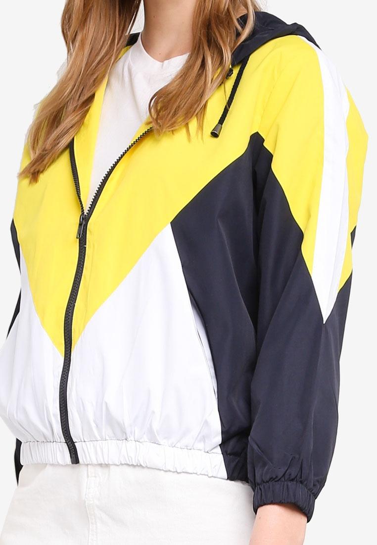 Yellow Yellow Jacket TOPSHOP Yellow Windbreaker TOPSHOP Jacket Windbreaker qwzxP0