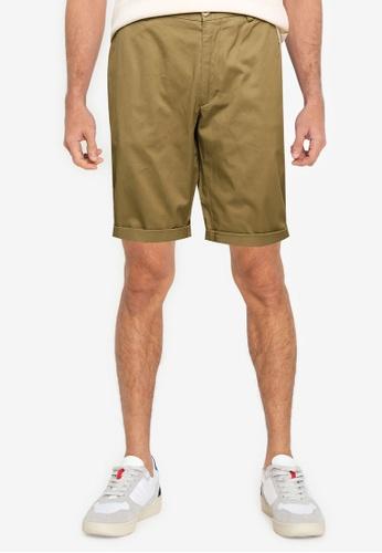 Ben Sherman green Signature Chino Shorts F4BB2AABB830E9GS_1
