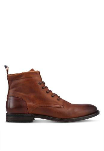 ALDO brown Rosarien Boots 81395SH6F1F37AGS_1