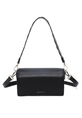 Milliot & Co. black Monica Sling Bag DD6F9AC72781E9GS_1