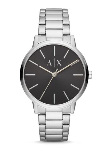 Armani Exchange silver Cayde Analog Watch AX2700 BA722ACAD61E6EGS_1
