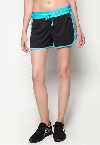 Champion black and multi Vapor 6.2 Shorts CH632AA69AUCPH_1