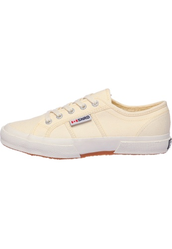 paperplanes beige SNRD-107 Unisex Fashion Casual Lace Up Canvas Sneakers Shoes PA110SH34PANHK_1