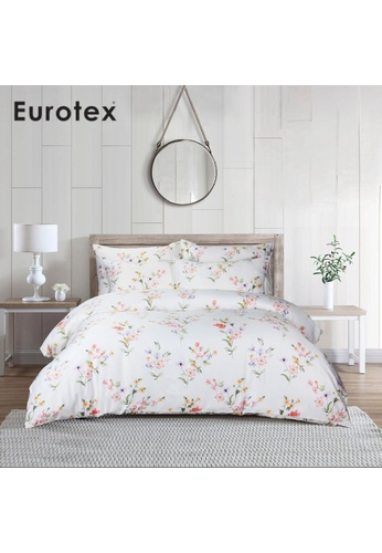 Eurotex Eurotex Mod Living 1000TC, 100% Tencel Printed, Fitted Sheet Set, Utopia. 417CFHLFFA4F52GS_1