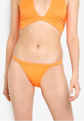 Miss Selfridge orange Orange Tanga Brief C2730USDB11F3BGS_1