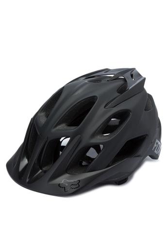 Fox Racing black Flux Helmet FO276AC0JWH7PH_1