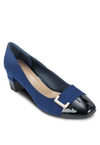 方頭扣環粗跟鞋, zalora 鞋評價女鞋, 厚底高跟鞋