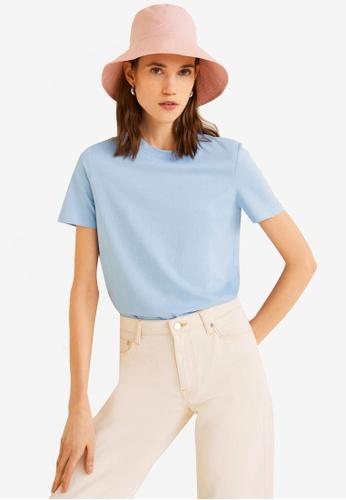 1cad70c81ec2 Shop Mango Organic Cotton T-Shirt Online on ZALORA Philippines