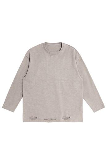 Twenty Eight Shoes Cutting style Lightweight Knit T-shirt 1902W20 0F32EAAEEE6A8EGS_1