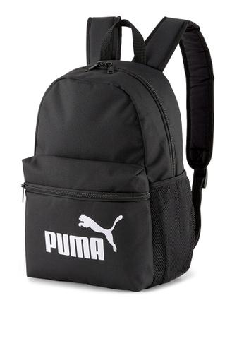 PUMA black Phase Small Youth Backpack 54B0CKCA535399GS_1