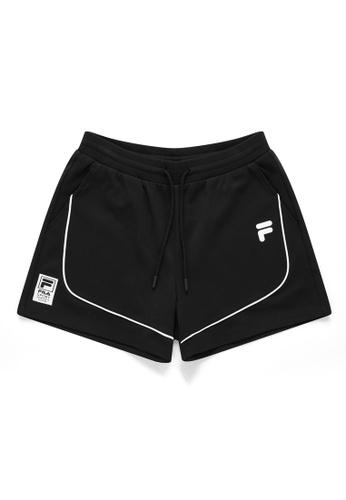 FILA black FUSION F Logo Short 6371BAA59D14FDGS_1