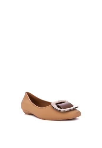 Reva brown Ysabelle Ballet Flats CEA48SHBC93A55GS_1