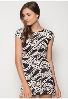 Elyzza Cap Dress