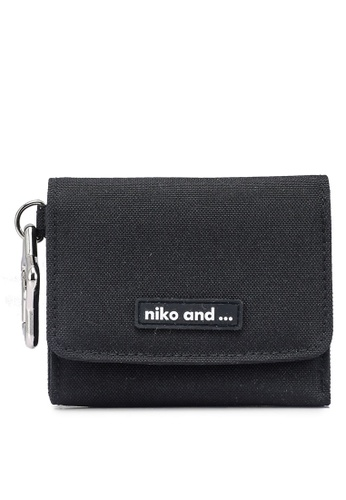 niko and ... black Original Tri-Fold Mini Wallet 81E4CACBC46B93GS_1