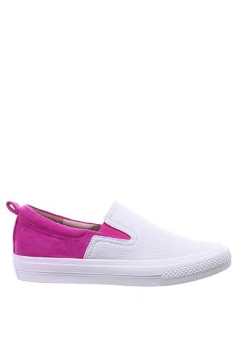 PRODUIT PARFAIT 紫色 雙色內增高休閒鞋 EECA9SH50E7685GS_1