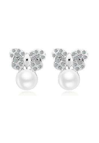 Urban Outlier white Pearl Earrings 21279 0FA9DACAF3718DGS_1
