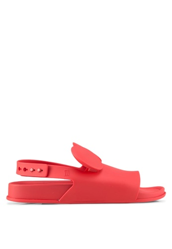 Melissa red Melissa Beach Slide Disney Sandals ME121SH0SX7HMY_1