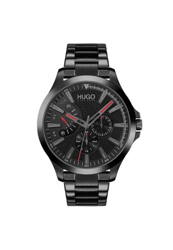 Hugo Boss black HUGO Leap Black Men's Watch (1530175) 43C0AACEBC2C10GS_1