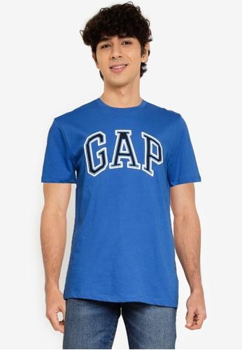 GAP 藍色 Arch T-襯衫 31C8EAA8029AFFGS_1