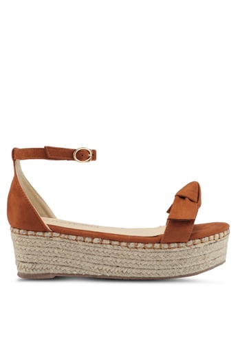 Mimosa brown Espadrille Wedges 6B115SHEBEA3AAGS_1