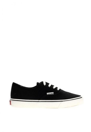 New York Sneakers black Vaughn Men's Low Cut Shoes 1822 0E28FSH7F029A2GS_1