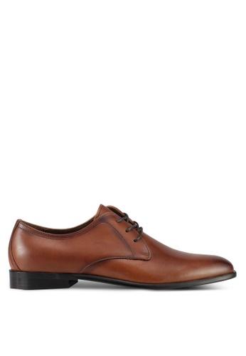 ALDO brown Talignano Derby Shoes 389C3SHC731501GS_1