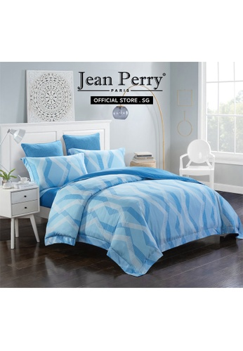 Jean Perry Jean Perry Renate Ecosilk Collection 800TC Lannick - Quilt Cover Bed Set  - King 63BFDHL05EC76FGS_1