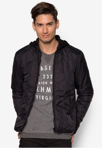 Djimon 軟襯連帽外套,zalora 男鞋 評價 服飾, 輕薄外套
