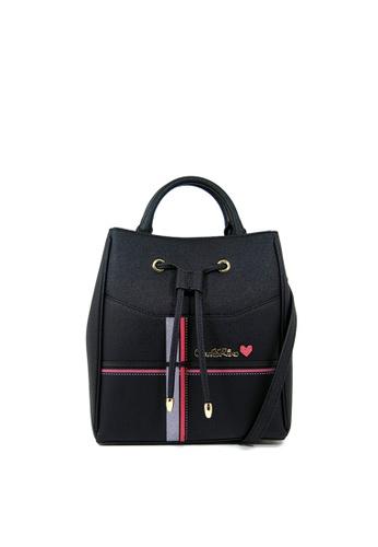 Carlo Rino black Carlo Rino 0303826-008-08 Top-handle bag (Black) 5372CAC8898A49GS_1