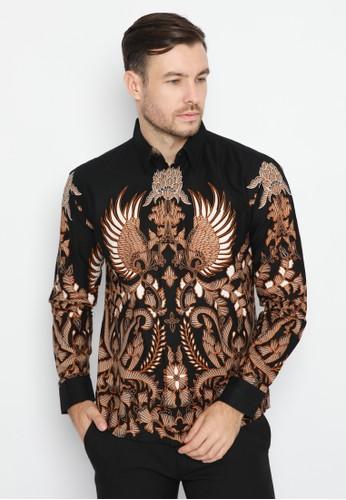 Enzy Batik black Kawaca 49B5CAA301C3ABGS_1