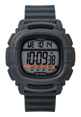 Timex grey Timex Command™ 47mm - Grey Case & Silicone Strap (TW5M26700) 9D43DACDDA1B91GS_1