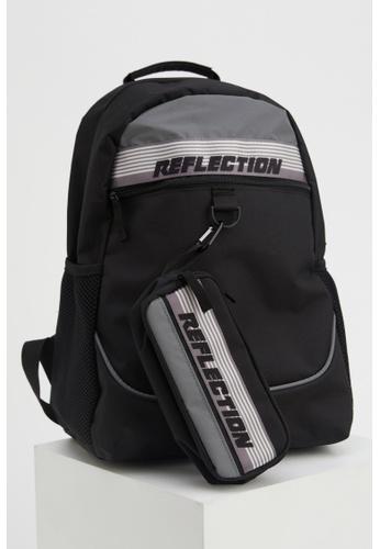 DeFacto black Man Backpack Bag D4CF0ACED808EBGS_1