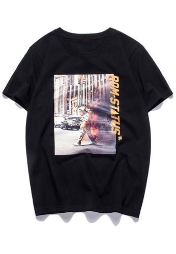 HAPPY FRIDAYS Trend Printed Short T-Shirts RS1196 2B41EAAF5A299BGS_1