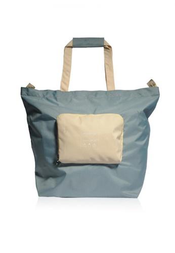 Monocozzi green Bon Voyage - Traveler Foldable Spare Bag (Large) - Green 93913AC2EA6AE0GS_1