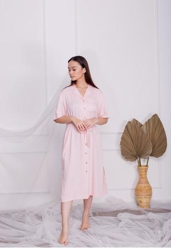 Simplify pink Lexi Dress Soft Pink AB46CAACD0B915GS_1
