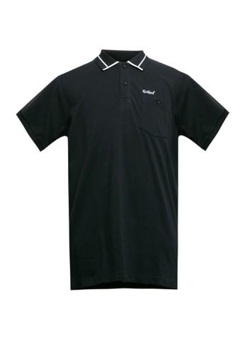 Kickers black Polo Shirt O9129B BB170AABCFDDAFGS_1