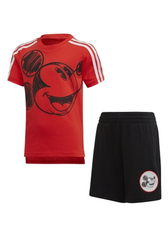 ADIDAS red mickey mouse summer set 59D62KAA6E3701GS_1