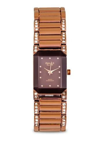 JES6125BRW 水鑽細鏈手錶, 錶類zalora 心得, 不銹鋼錶帶