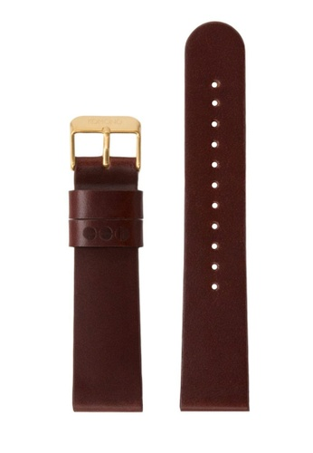 KOMONO brown Winston or Walther 20 Chestnut Gold Strap KO163AC0T0TUMY_1