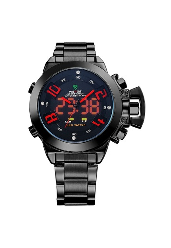 Weide red Analog Watch WH1008B-2C WE088AC85KRYPH_1