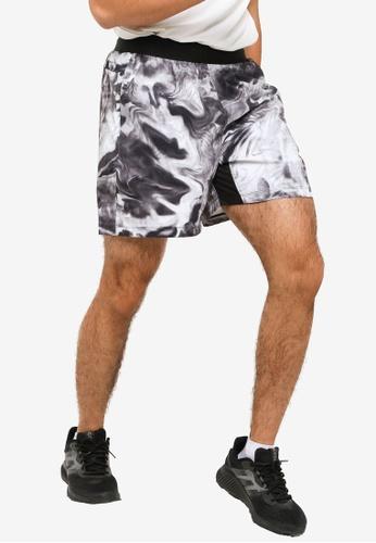 ADIDAS 黑色 unite floral shorts 602ECAA75A7618GS_1