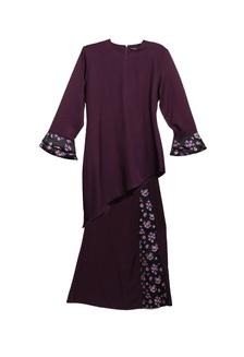 Buy Zeela Leesa Doll Peplum Kurung Online on ZALORA Singapore e5ed574295