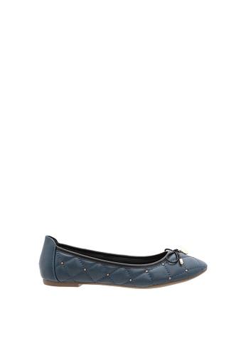 SEMBONIA blue Women Synthetic Leather Ballet Flat 1EC08SH768E96EGS_1