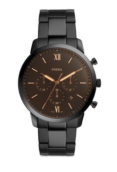 cfbaa0a37d0 Fossil black Neutra Watch FS5525 0F981AC45302E3GS 1