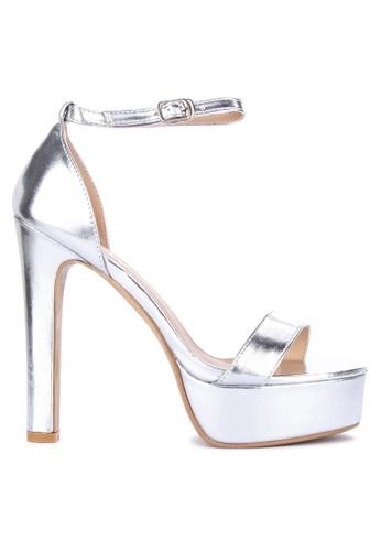 18da5938a5 Shop Sofab! Colby Ankle Strap Platform High Heels Online on ZALORA ...