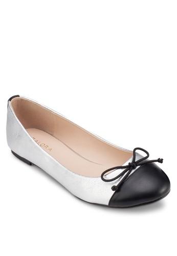 拼色蝴zalora時尚購物網的koumi koumi蝶結娃娃鞋, 女鞋, 鞋