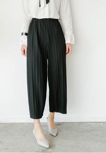 褶飾闊管長褲, 服飾,esprit outlet台北 長褲及內搭褲