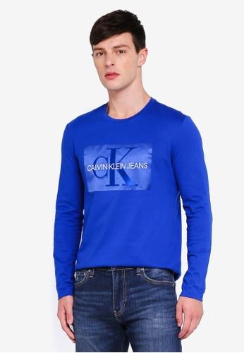 Calvin Klein 多色 Monogram Box Logo Tee - Calvin Klein Jeans 44110AA6A939F1GS_1