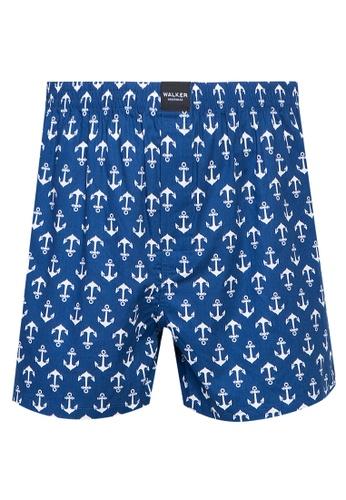 Walker Underwear blue Printed Boxer Shorts 8EC29USADAF9C1GS_1